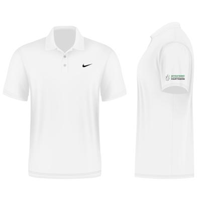 Branded Nike Golf Shirt - White