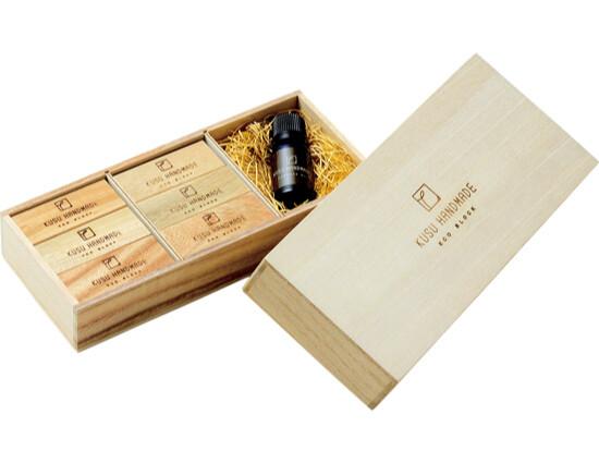 Eco-Friendly Deodorizer & Insect Repellent Camphor Wood Block