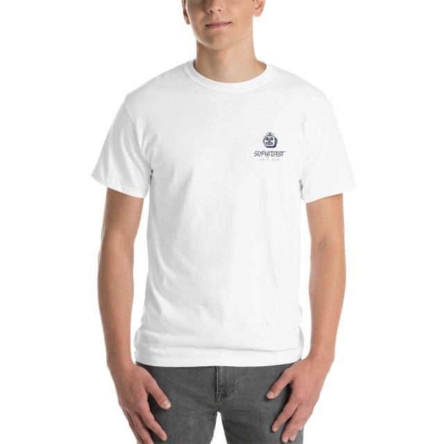 SOPHFIFEST - Short Sleeve T-Shirt (white, sml white logo)
