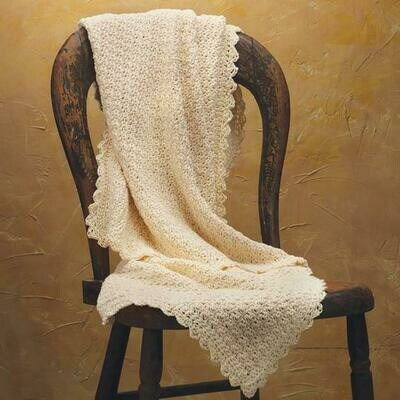 Pure & Simple Crochet Baby Blanket Kit