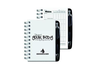 Motivational Diet & Fitness Journal®