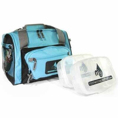 Turquoise Motivational Meal Prep Bag®