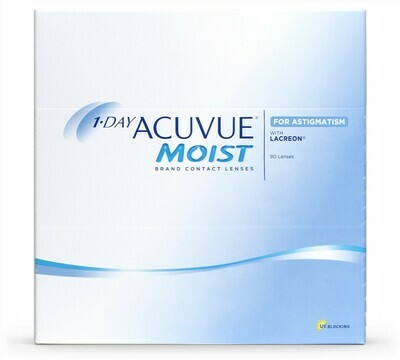 1-DAY ACUVUE® MOIST for Astigmatism da 90