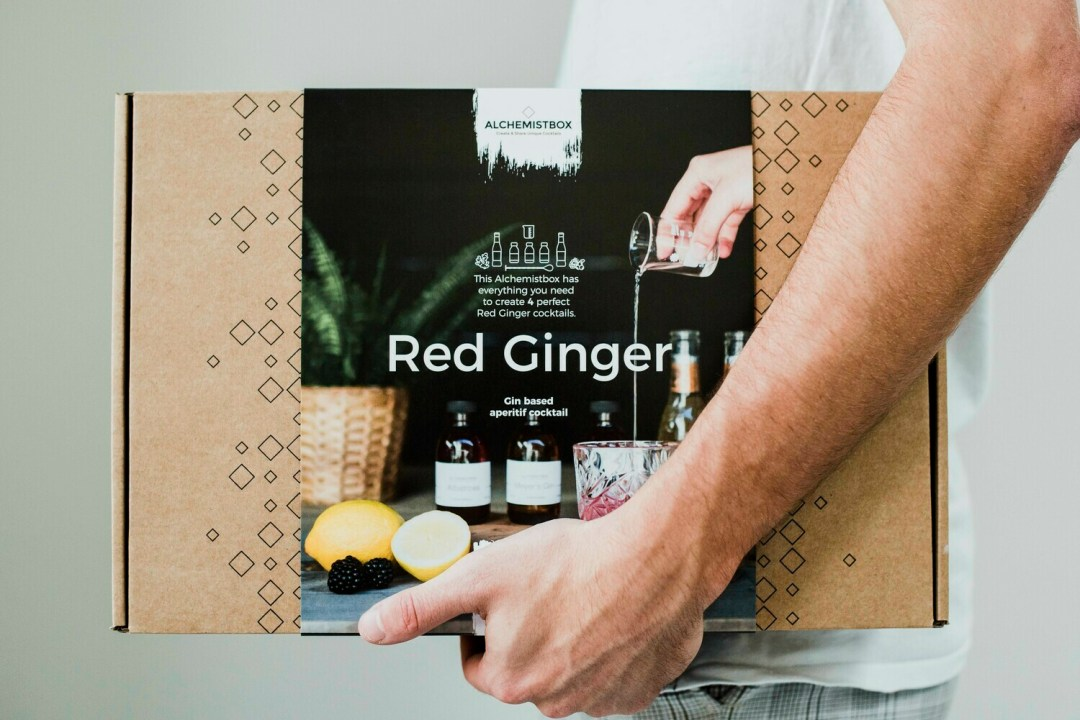 BOXED. Red Ginger