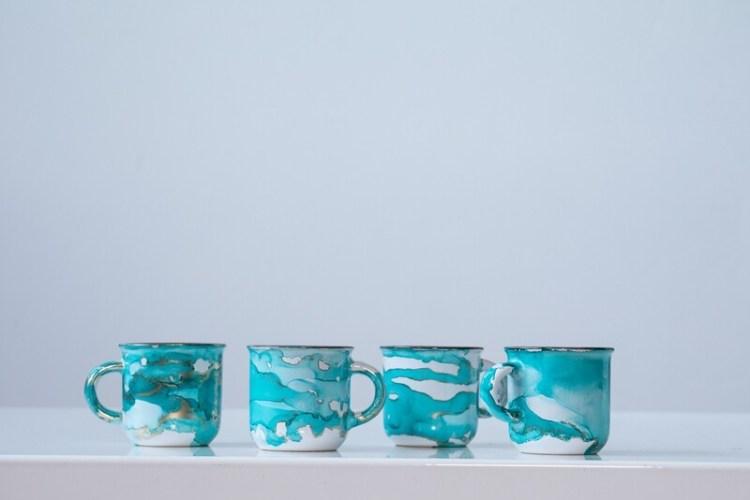 Set of 4 Espresso Mugs
