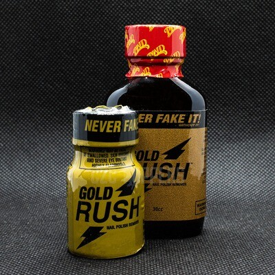 Gold Rush Nail Polish Remover