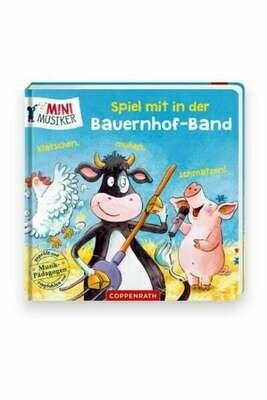Spiel mit in der Bauernhof-Band