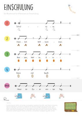 Rhythmical: Einschulung