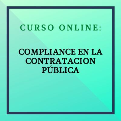 Compliance en Contratación Pública 22 de febrero - 21 de marzo de 2021