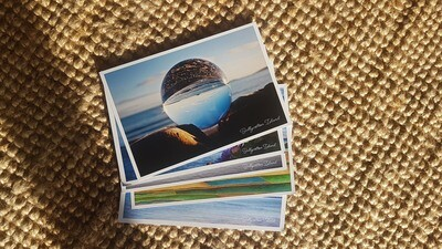 Selection of 5 (plastic free) postcards