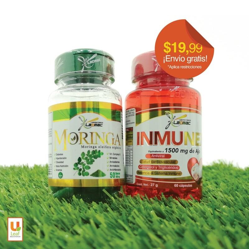 Duo Pack Moringa + Inmunex