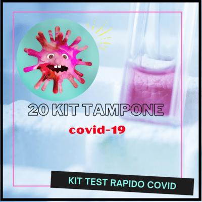 20 Kit Test Tamponi