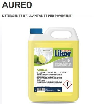 Likor Detergente lavapavimenti al bergamotto AUREO