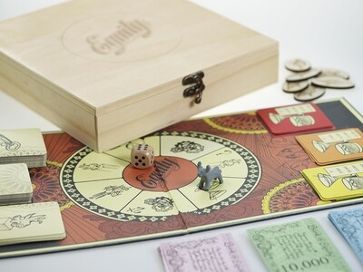 Boardgame / Brettspillet - Equity