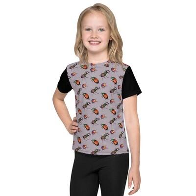 Kids crew neck t-shirt - Funky Beetles