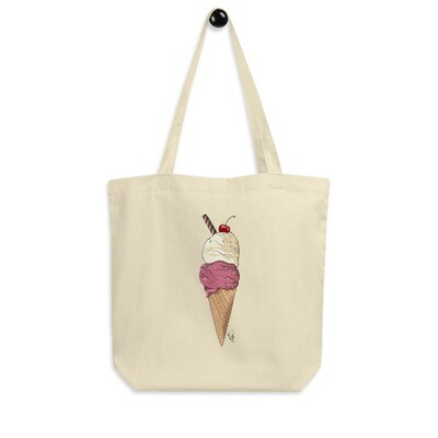 Eco Tote Bag - Two Scoops