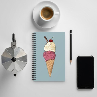 Spiral notebook - Two Scoops
