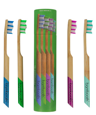 Bambooth Toothbrush Multipack Medium