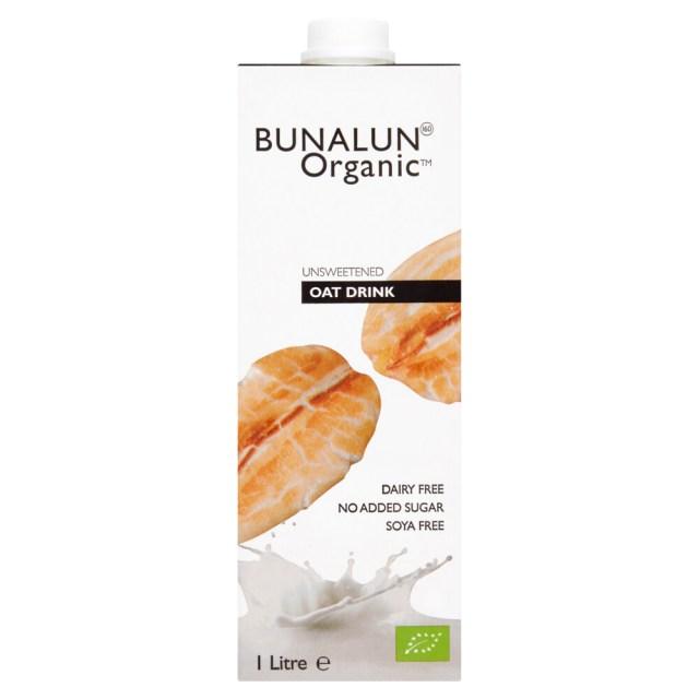Bunalun Organic Oat Milk 1Lt