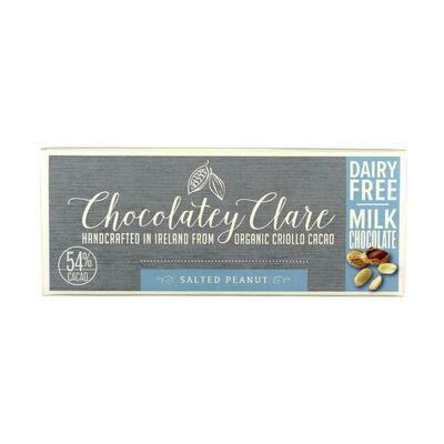 Chocolatey Clare Vegan Chocolate Salted Peanut 40g