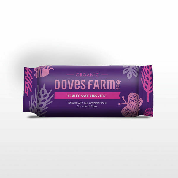Doves Farm Organic Fruity Oat Biscuits 200g