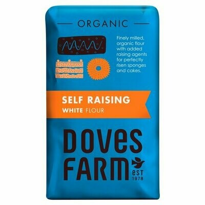 Doves Farm Organic Self Raising White Flour 1Kg