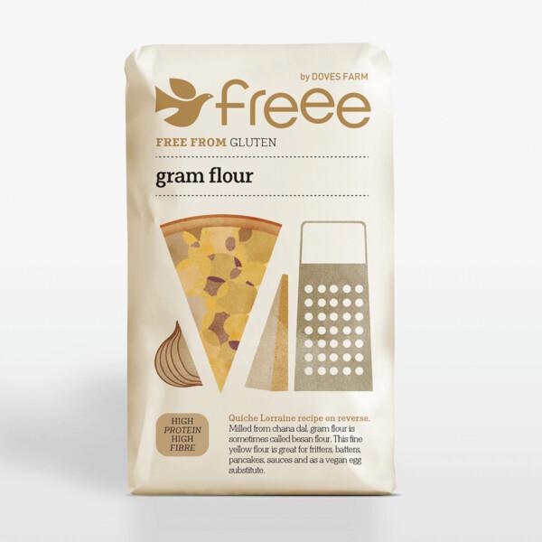 Doves Farm Gluten Free Gram Flour 1Kg