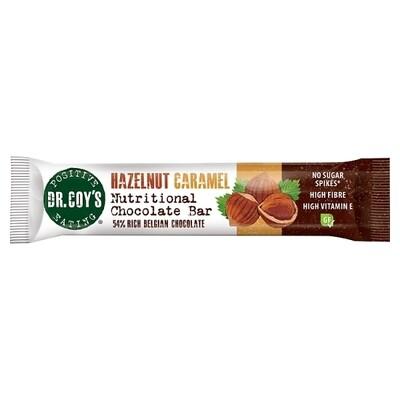 Dr Coys Hazelnut Caramel Nutritional Chocolate Bar 35g