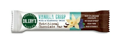 Dr Coys Vanilla Crisp Nutritional Chocolate Bar 35g