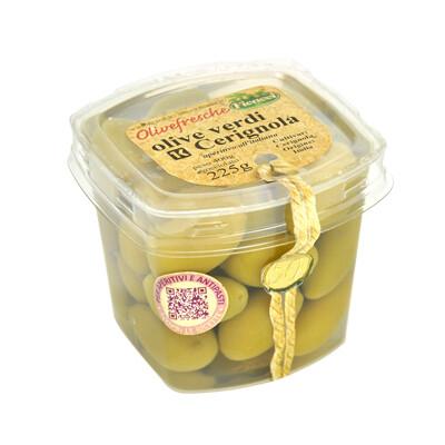 Ficacci Green Cerignola Olives 400g