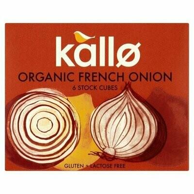 Kallo Organic French Onion Stock Cubes 66g