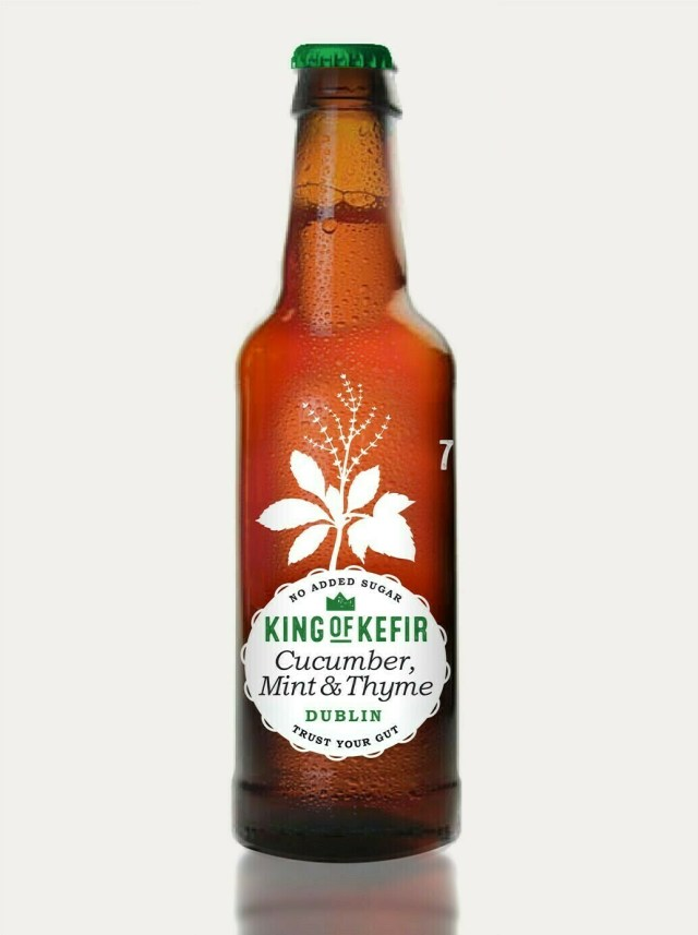 King Of Kefir Cucumber & Thyme 330ml