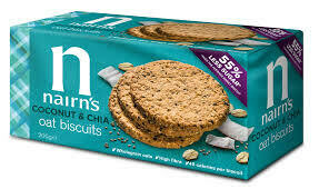Nairns Coconut Chia Oat Biscuits 200g