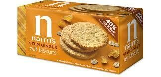 Nairns Stem Ginger Oat Biscuits 200g