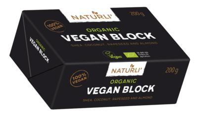 Naturli Organic Vegan Butter Block 200g