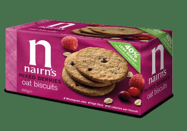 Nairns Mixed Berries Oat Biscuits 200g