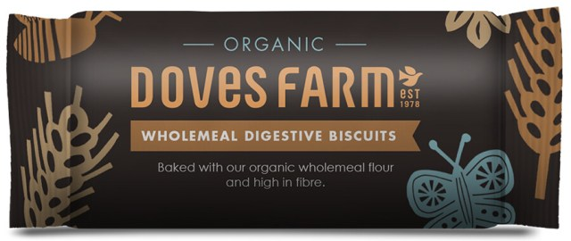 Doves Farm Organic Wholemeal Digestive Biscuits
