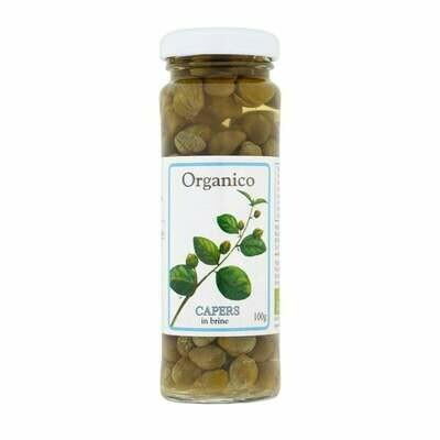 Organico Organic Capers 100g