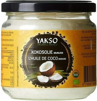 Yakso Organic Coconut Oil 320ml