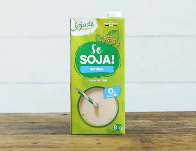 Sojade Organic Soya Milk Natural 1Lt
