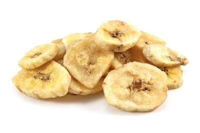 Loose Organic Banana Chips 100g