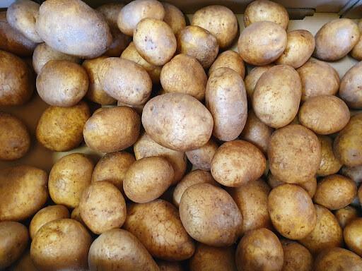 Organic New Season Irish White Potato 100g