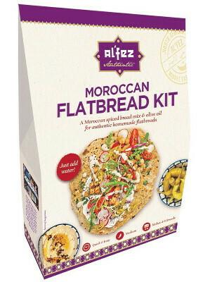 Al'fez Moroccan Flatbread Kit (Makes 4-6 breads)