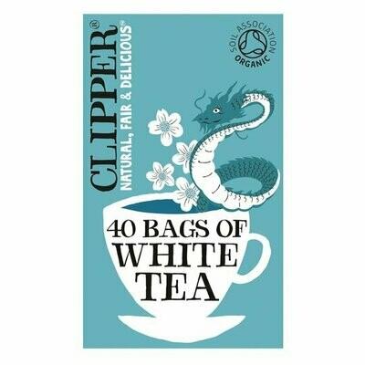 Clipper Organic White Tea 40 Bags