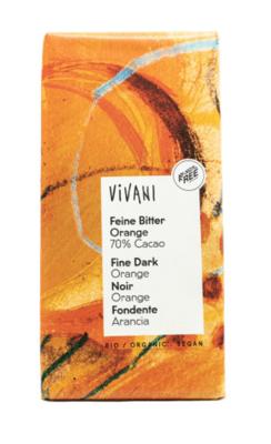 Vivani Bitter Orange 70% 100g