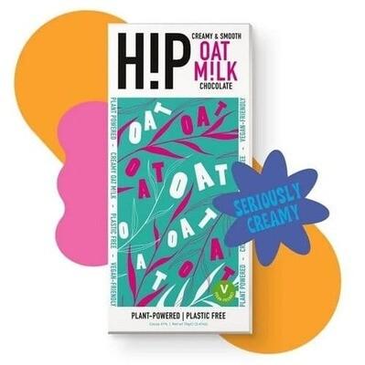 H!P Vegan Plain Oat Milk Chocolate 70g