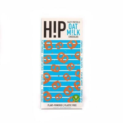 H!P Salty Pretzel Vegan Oat Milk Chocolate 70g