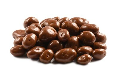 Loose Milk Chocolate Covered Raisins 100g