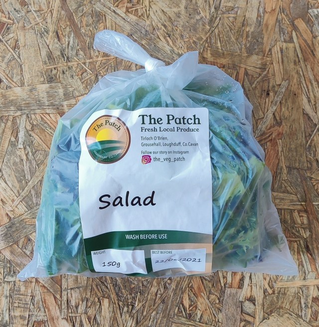 The Patch Salad Leaves Bagged 150g Each