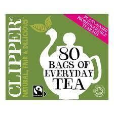Clipper Everyday Tea Organic & Fairtrade 80 Bags